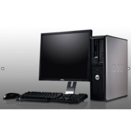 Cpu Dell 755 Core 2 Duo 2 Gb Hd 160 Dvd C/ Monitor 17